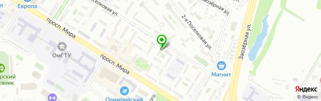 Сервисный центр ПК Сервис — схема проезда на карте