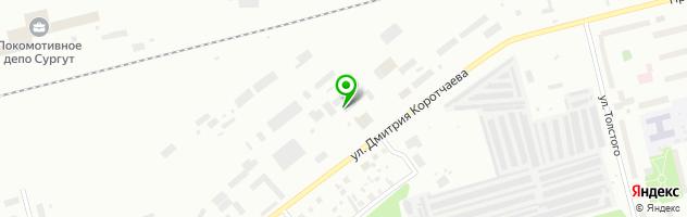 Грузовое СТО на Привокзальной! — схема проезда на карте