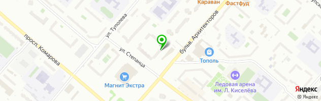 Стоматологическая клиника Дент Мастер — схема проезда на карте