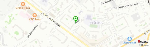 Атлант-Клиника доктора Яковлева — схема проезда на карте