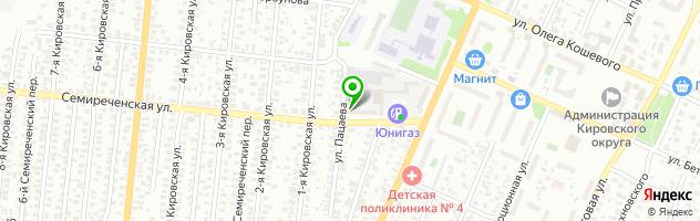 Автотехцентр Isuzu — схема проезда на карте