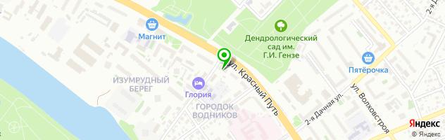 Парикмахерская Локон — схема проезда на карте