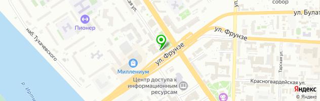 "Шинный сервис ""Валерий"" — схема проезда на карте"