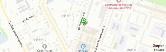 Парикмахерская Белоснежка — схема проезда на карте
