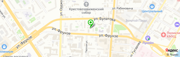 Лечебно-диагностический центр ЗДОРОВЬЕ — схема проезда на карте