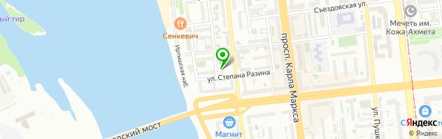 Салон-парикмахерская На Ленина — схема проезда на карте
