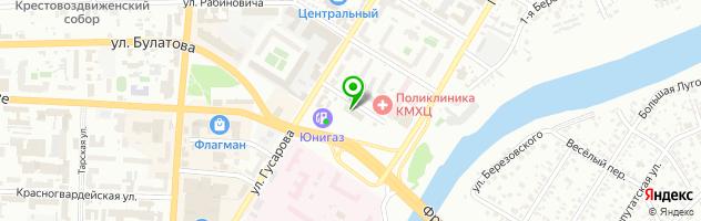 Студия массажа «AlekSandra» — схема проезда на карте