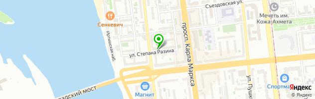 Ресторан В Доме Актера — схема проезда на карте