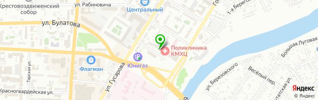 Дез-Гарант — схема проезда на карте