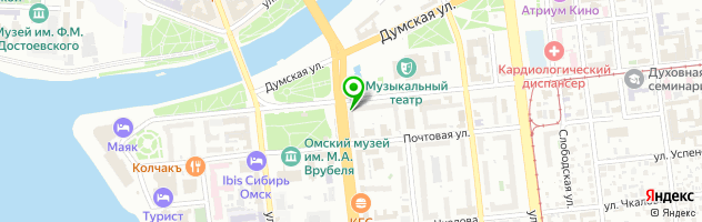 Центр контактной коррекции зрения Мари — схема проезда на карте