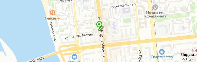 Стоматологическая клиника На Ленинградской — схема проезда на карте