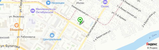 Многопрофильный медицинский центр Здоровье — схема проезда на карте