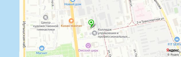 Автоцентр Бегемот — схема проезда на карте