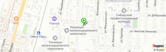 Специализированный центр Рынок труда — схема проезда на карте