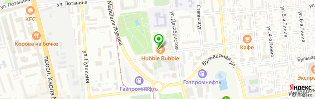 Агентство моделей OmskModels — схема проезда на карте