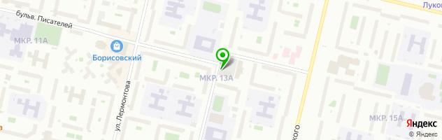 Ресторан Фантазия — схема проезда на карте