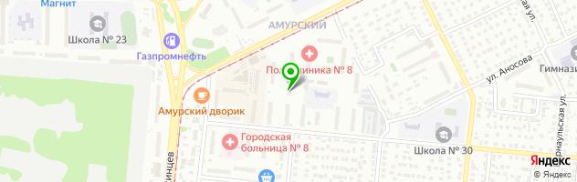 Медицинский центр ПРАКТИК — схема проезда на карте