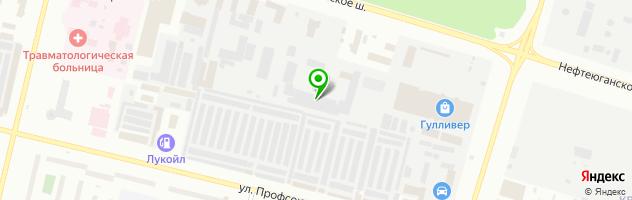 Химчистка-прачечная Химтэкс — схема проезда на карте