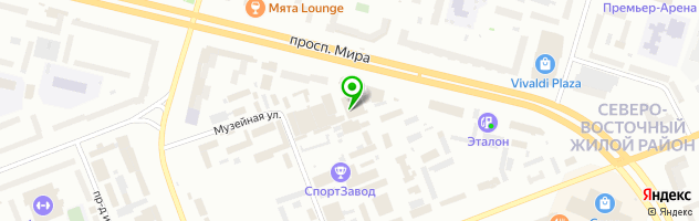 Автосервис Апельсин — схема проезда на карте