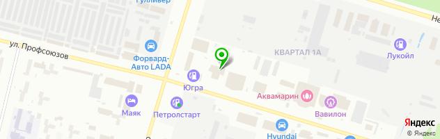 Автоцентр Альянс Моторс — схема проезда на карте