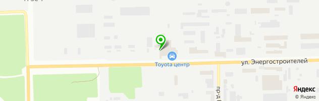 СТО GT-Сервис Выхлопных Систем — схема проезда на карте