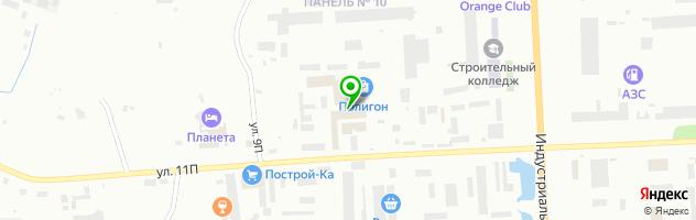 Салон-мастерская Стеклорез — схема проезда на карте