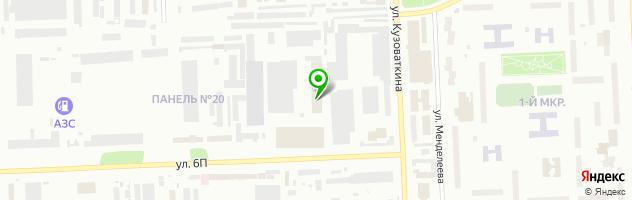 СТО АтлантАвтоСервис — схема проезда на карте