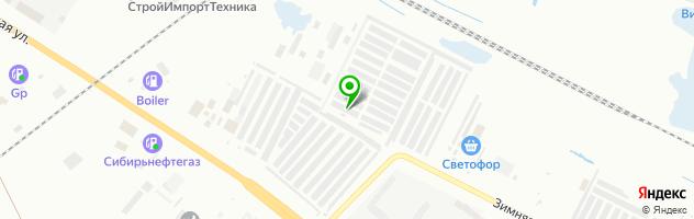 Автотехнический центр Квадрат — схема проезда на карте