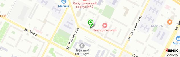 Гостиничный комплекс Луч — схема проезда на карте