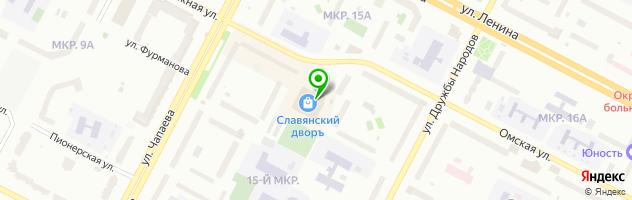 Кафе Стейк-поинт — схема проезда на карте