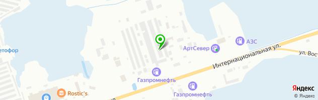 Автотехцентр ГСМ — схема проезда на карте