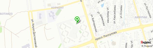 АДД-Кызмет мастерская — схема проезда на карте