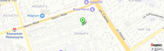 ЭЛКО детский сад — схема проезда на карте