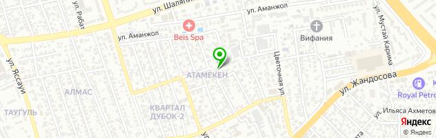 Детский сад Зайка — схема проезда на карте