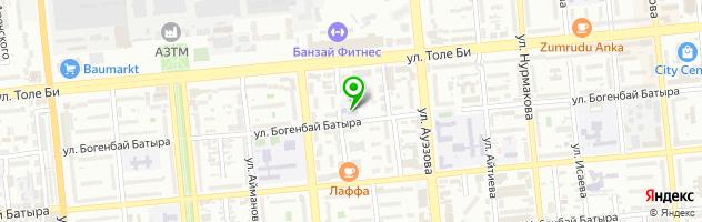Медико-стоматологический колледж профессора Рузуддинова — схема проезда на карте