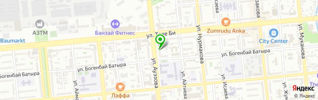 АКТИВ ЛОМБАРД Ауэзова 32 — схема проезда на карте