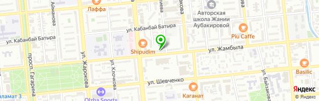 Nika салон красоты — схема проезда на карте