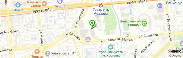 Ресторан Гриль — схема проезда на карте