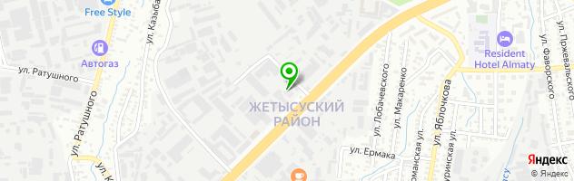 Сервис ПЕЖО автосервис — схема проезда на карте