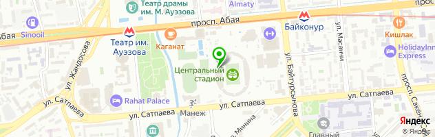 СДЮШОР №14 — схема проезда на карте