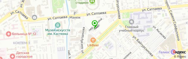 АКТИВ ЛОМБАРД Минина 24 — схема проезда на карте