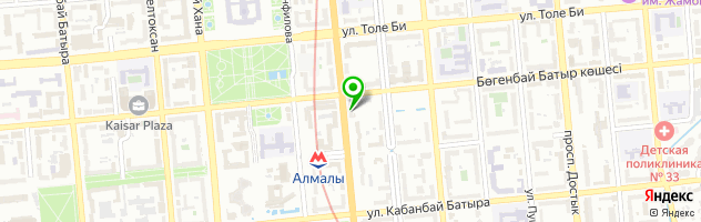 АКТИВ ЛОМБАРД Назарбаева 118 — схема проезда на карте