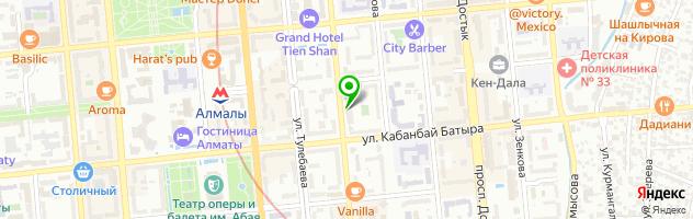 Lounge-кафе DOLCETTO — схема проезда на карте
