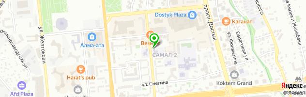 Ясли-сад №114 — схема проезда на карте