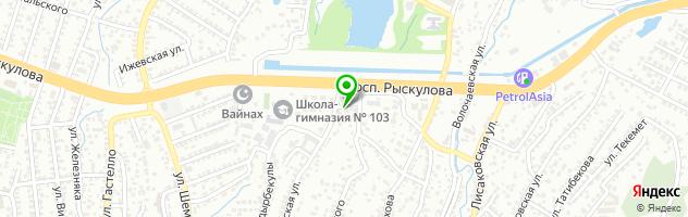 Автомагазин Denso-Service — схема проезда на карте