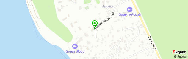Ресторан русской кухни На Даче — схема проезда на карте