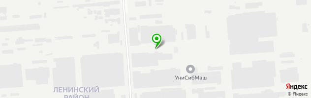 СТО АМ Туарег — схема проезда на карте