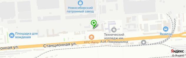 Кафе Хутор-ок — схема проезда на карте
