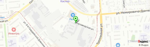 Установочный центр газового оборудования и тахографов Автогазаппаратура — схема проезда на карте