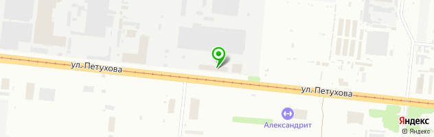 Центр установки и страхования Автозвук-Профи — схема проезда на карте
